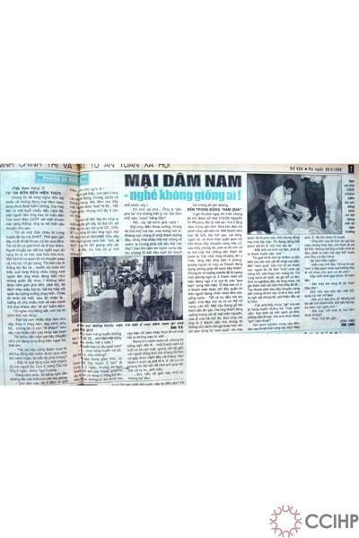 Những bài báo về mại dâm nam (1998)