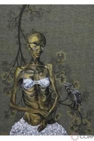 Ẩn ức trong tranh về thế giới thứ 3 của Phạm Tuấn Tú