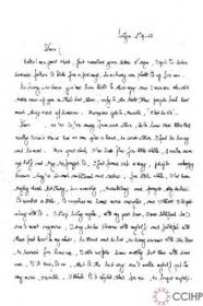 Bức thư gửi một người bạn Mỹ