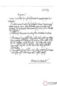 một bức thư từ Mỹ