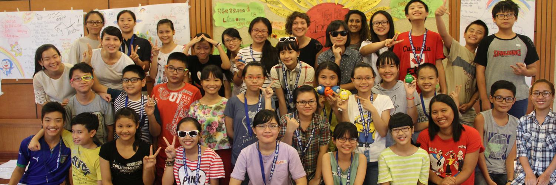 Trại hè 2015 của nhóm Tình nguyện trẻ