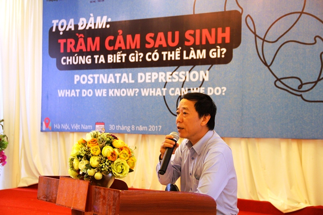 Dr Nguyen Duc Vinh, Director of Maternal and Child Health Department of Ministry of Health gave open