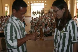 Tâm sự bạn trẻ tham gia hoạt động truyền thông về HIV tại Trại giam A2