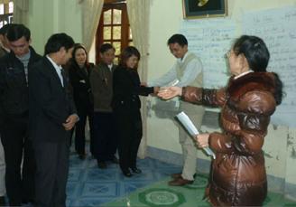 Tập huấn chuyên sâu về phương pháp truyền thông phòng chống bạo lực giới