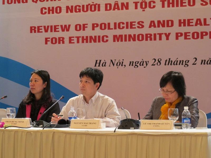 Hội thảo Tổng quan Chính sách và mô hình chăm sóc sức khỏe cho người dân tộc thiểu số tại Việt Nam