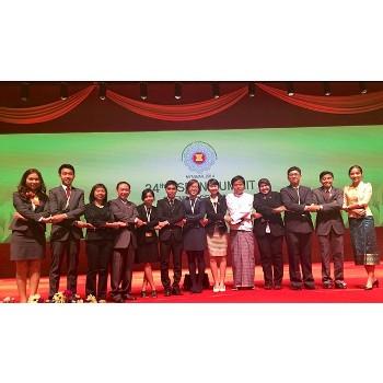 Thanh niên ASEAN tại hội nghị thượng định lãnh đạo cấp cao ASEAN
