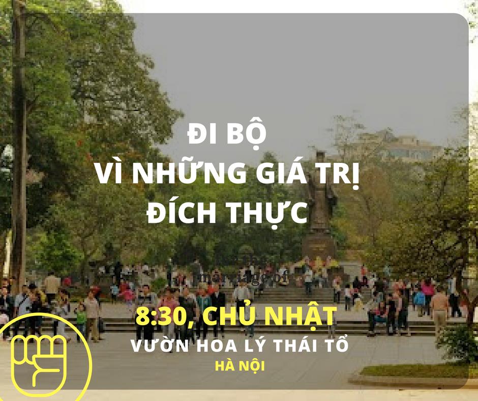 """Đi bộ vì những giá trị đích thực của phụ nữ - Một """"women's march"""" tại Hà Nội"""