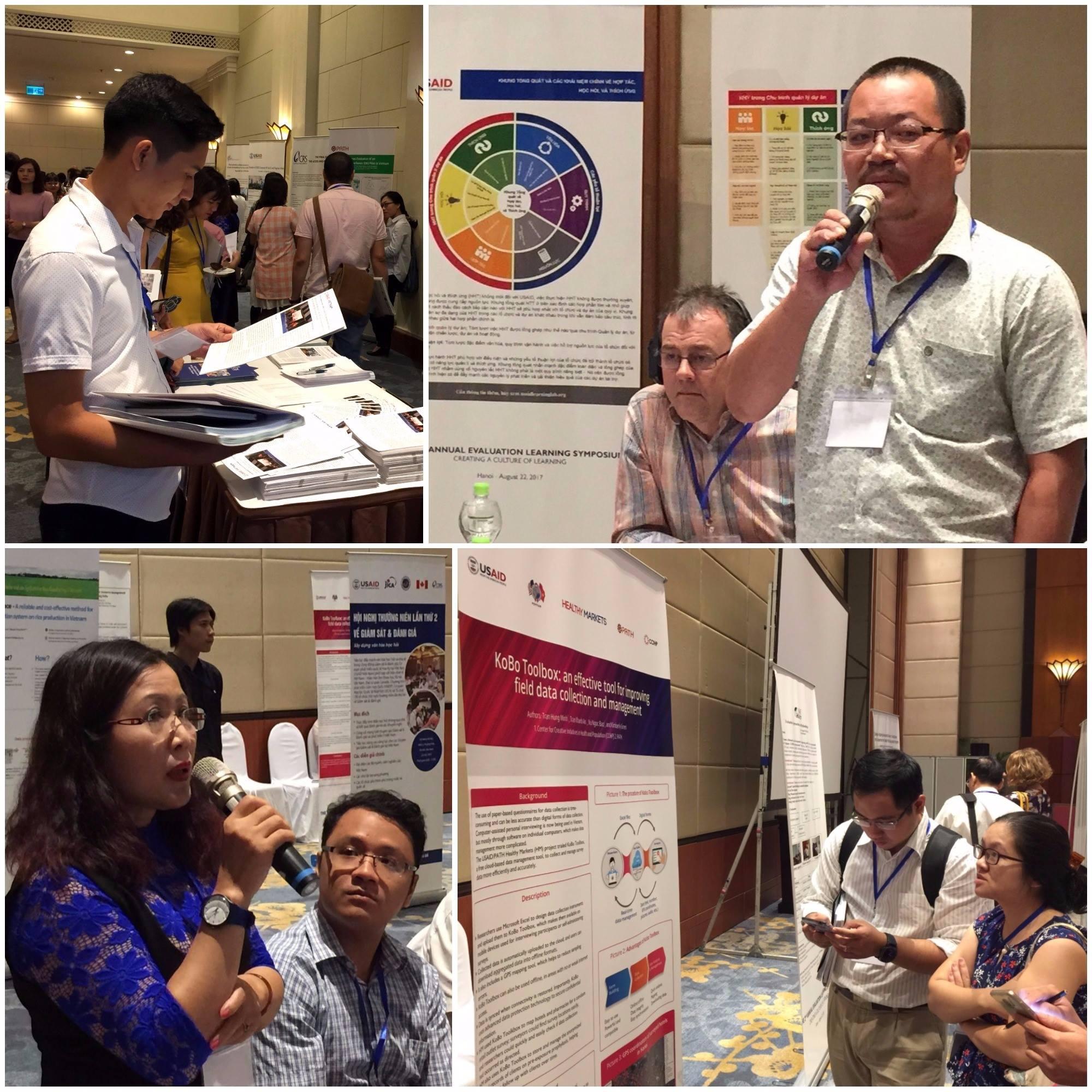 CCIHP tại Hội nghị thường niên lần thứ 2 về giám sát đánh giá của USAID tại Hà Nội