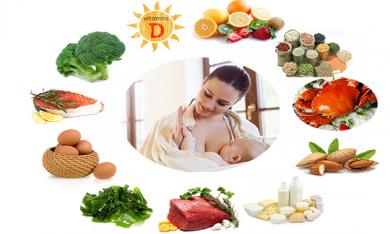 Phụ nữ sau sinh cần được ăn uống như thế nào?
