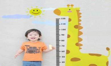 Theo dõi chiều cao, cân nặng của trẻ