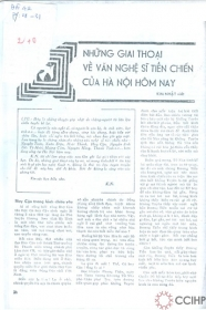 Báo đời số 42_về Huy Cận (1970)