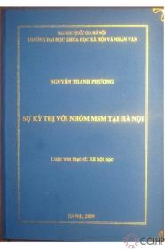 Ảnh chụp bìa một luận văn tốt nghiệp về MSM (Hà Nội, 2009)