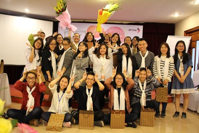 CCIHP cùng các bạn trẻ tham gia cuộc thi Huơu Thủ lĩnh trong ngày chung kết