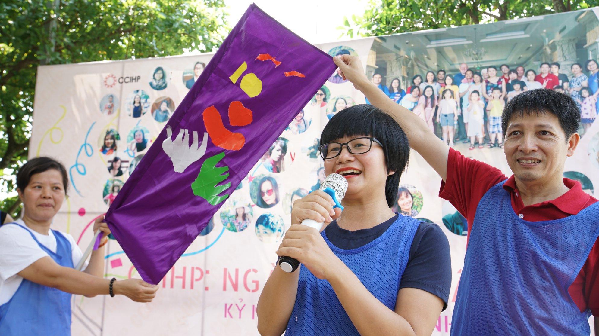 CCIHP - Team và flag
