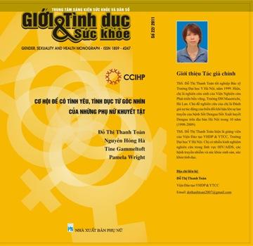 Cơ hội để có Tình yêu, Tình dục từ góc nhìn của những phụ nữ khuyết tật, Số 22, 2011