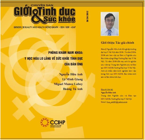 Phòng khám nam khoa: Y học hóa lo lắng sức khỏe tình dục của đàn ông, số 24, 2012