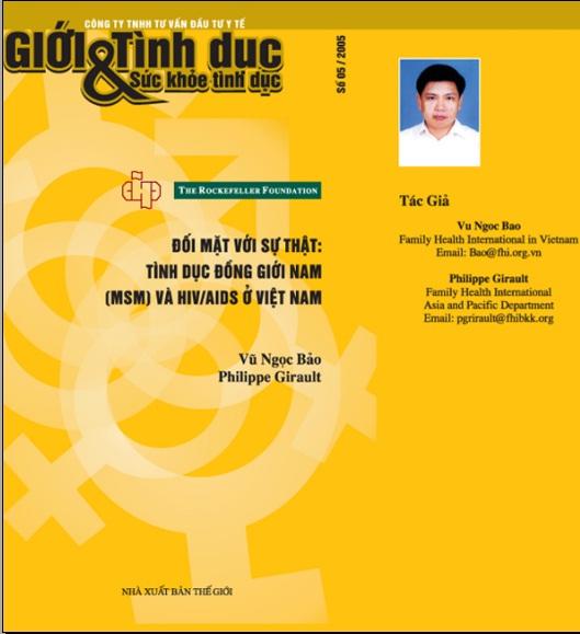 Đối mặt với sự thật: Tình dục đồng giới nam (MSM) và HIV/AIDS, số 5, năm 2005