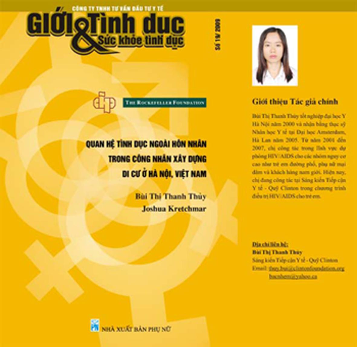 Quan hệ tình dục ngoài hôn nhân trong công nhân xây dựng di cư ở Hà Nội, Việt Nam, số 19, năm 2010