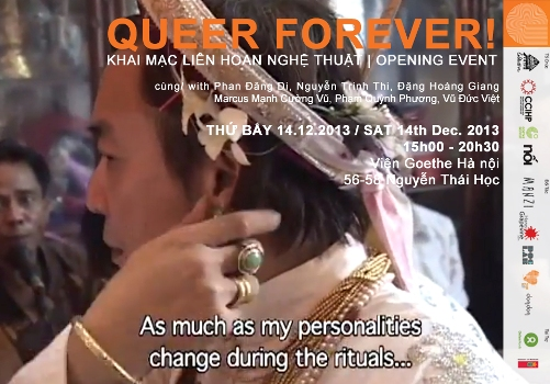 Thư mời tham dự khai mạc liên hoan nghệ thuật 'QUEER FOREVER'