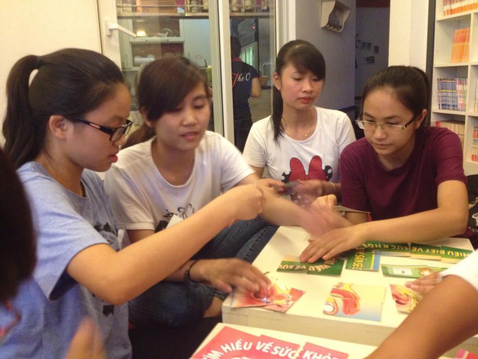 CCIHP và Y-PEER VIỆT NAM tập huấn cho thành viên câu lạc bộ tình nguyện