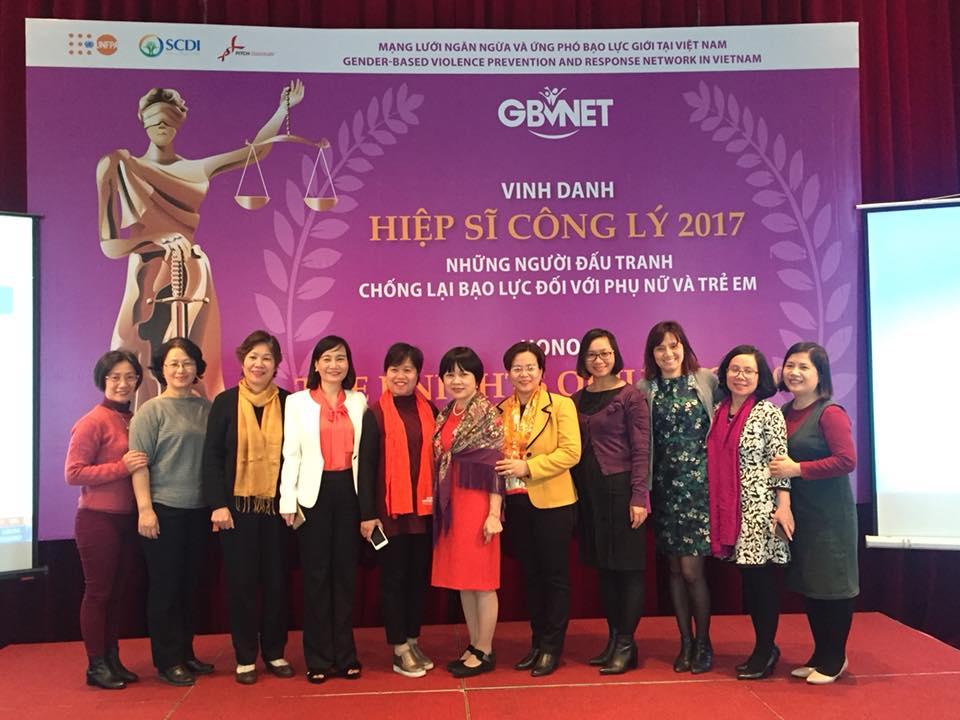 Tổng kết hoạt động năm 2017 của GBVNET và Lễ vinh danh Hiệp sĩ Công lý