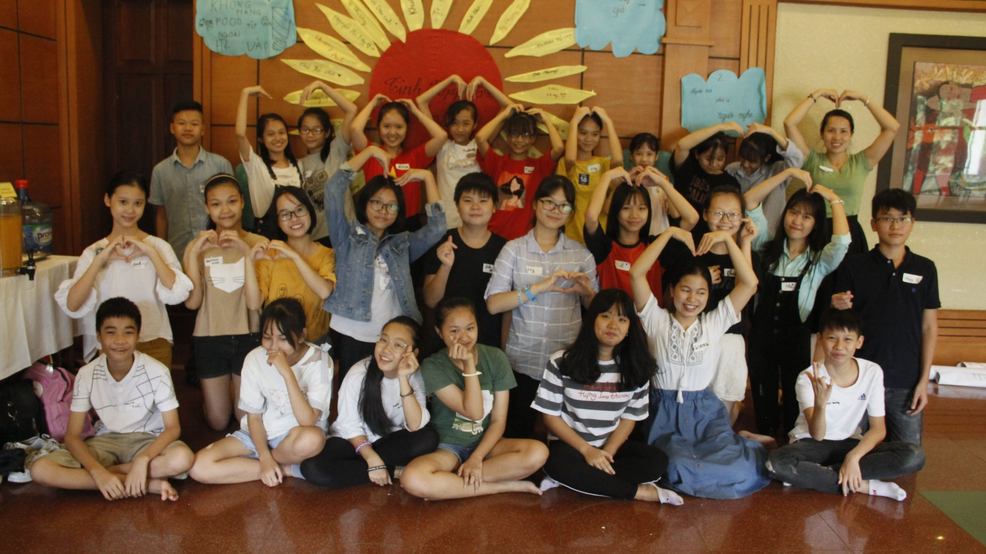 Trại hè Tình nguyện trẻ- Chia sẻ, gắn kết, yêu thương